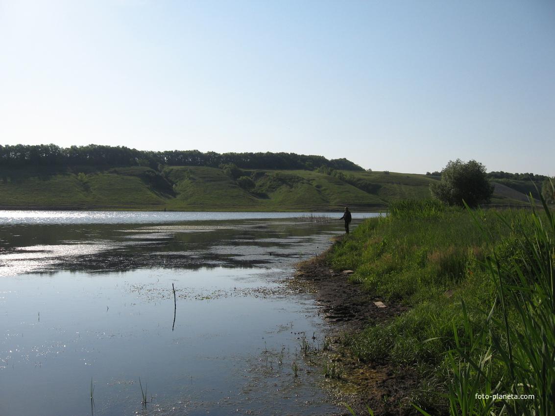 максимовка белгородская сторона рыбная ловля  держи карте