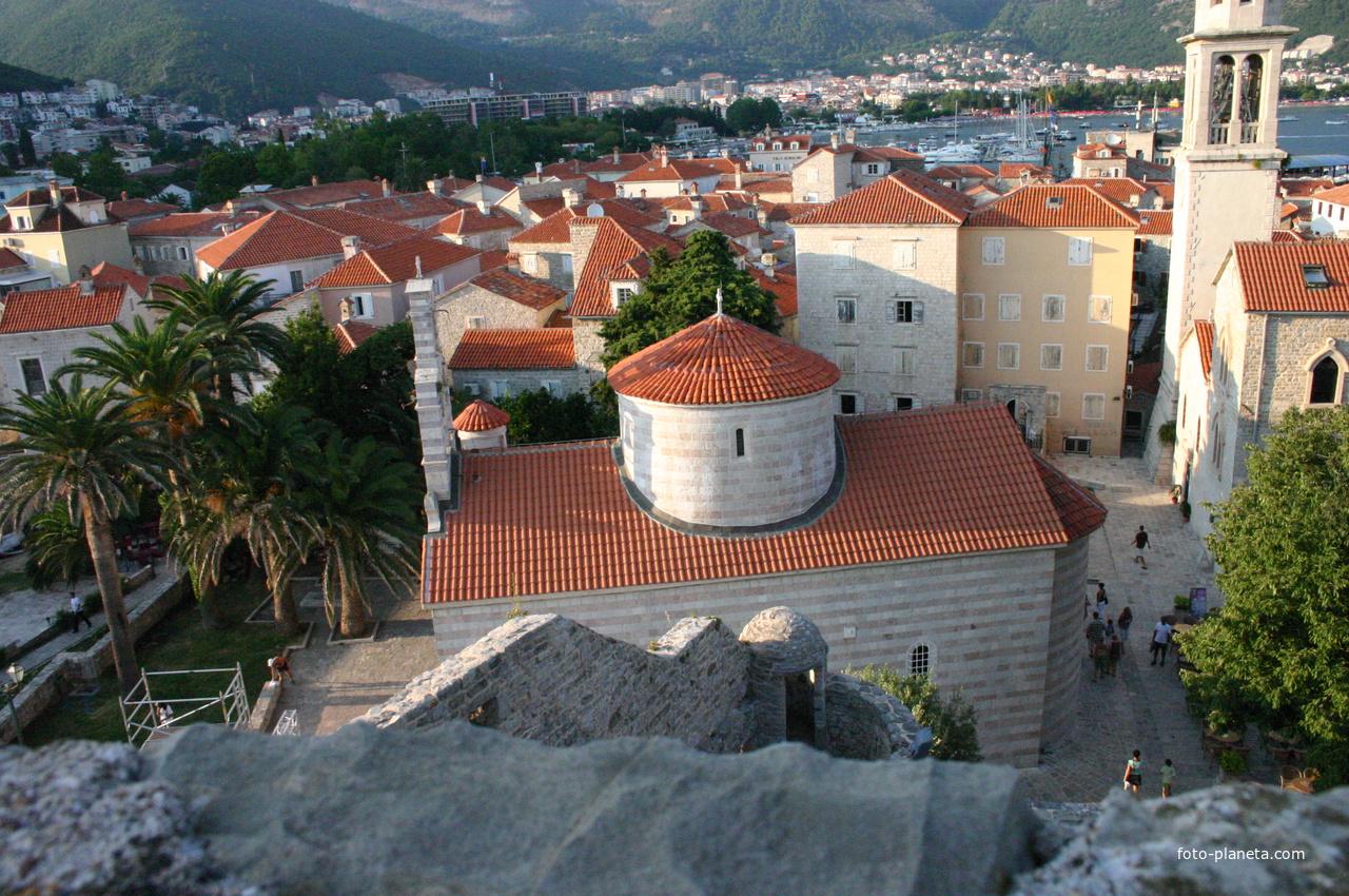 Троицы Живоначальной церковь. Вид сверху.