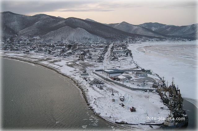 поселок моряк рыболов ольгинский район приморский край