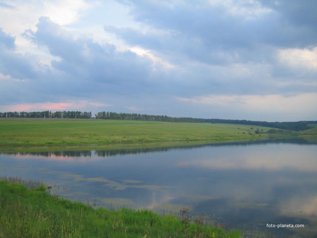 озеро городище рыбалка