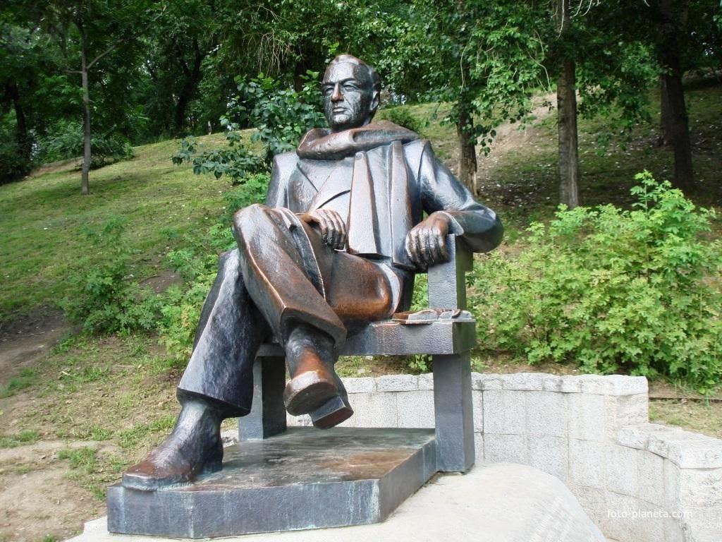 Памятник Н. П. Задорнову | Хабаровск (Хабаровский район)