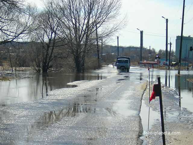 Наводнение нижний ломов