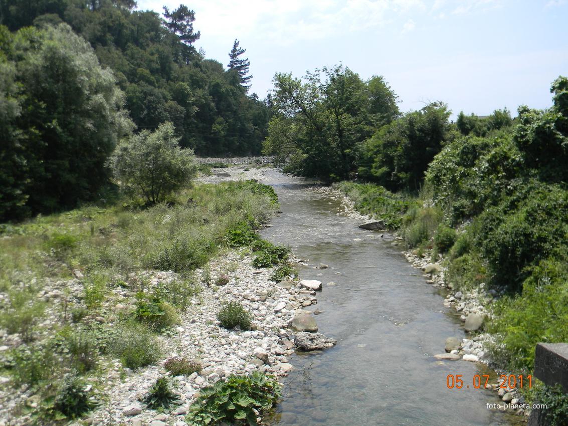Фото река текос краснодарский край