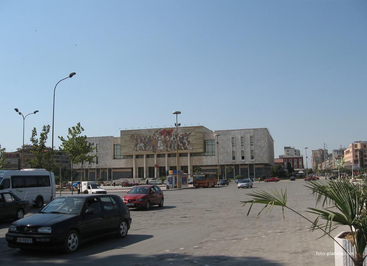 Тирана, национальный Исторический музей