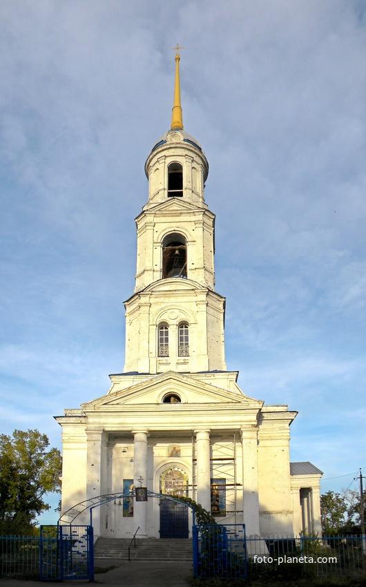 Никольский храм в селе Никольское