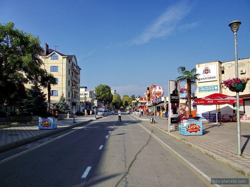 фото улицы мира анапа сейчас