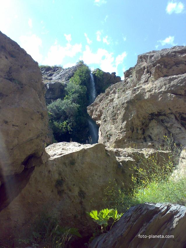 водопад села Гдым