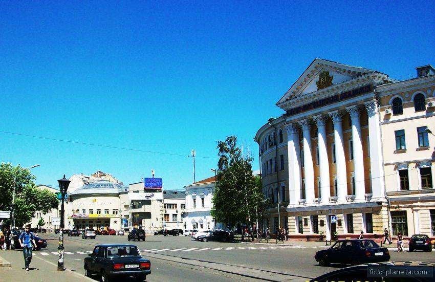 Киев, Контрактовая пл.