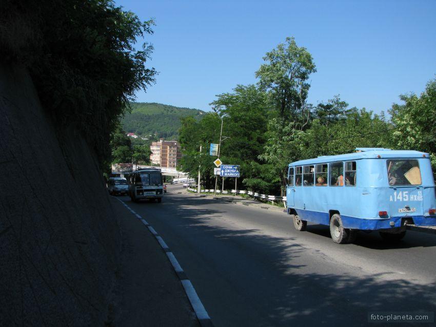Дорога на Сочи