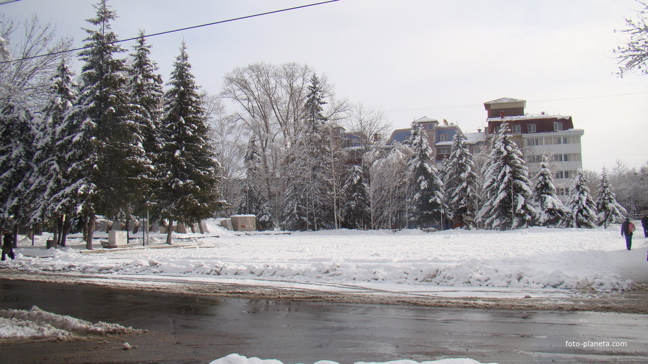 Сквер Победы. 2012 г.