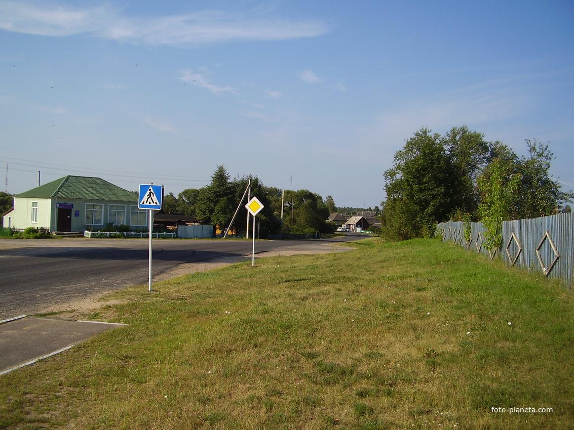 ул.Оршанская(со стороны г.Лиозно)