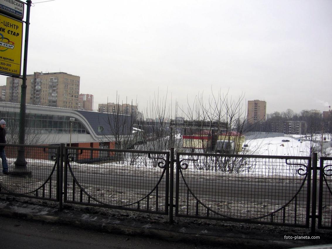Рублёвское шоссе метро станция Кунцевская