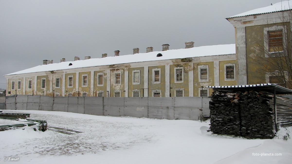 Монастырь базилиан XVIII век