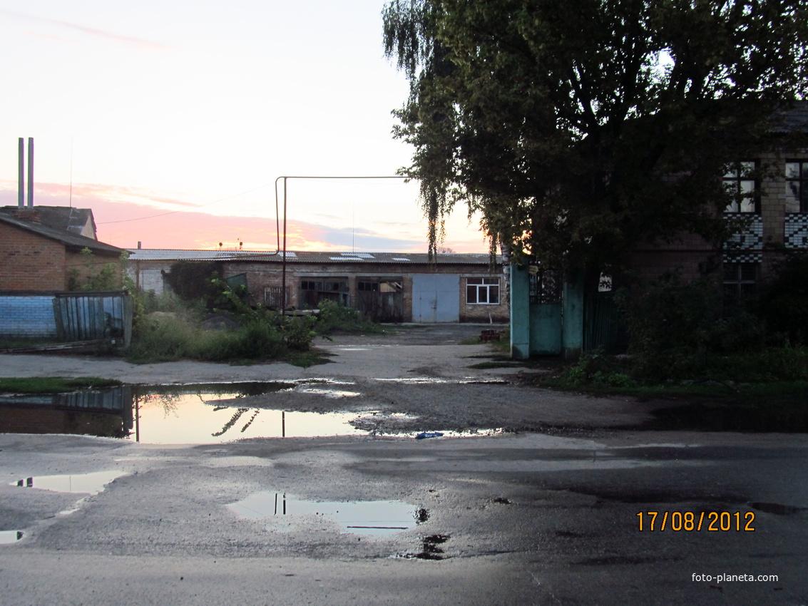 Лебедин, Вокзальная улица
