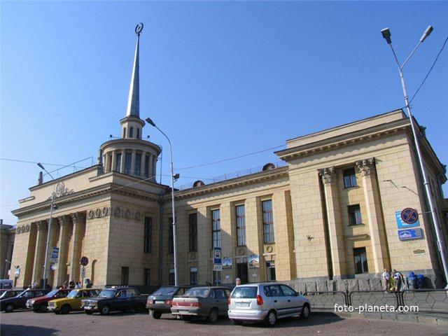 Жд вокзал Петрозаводска