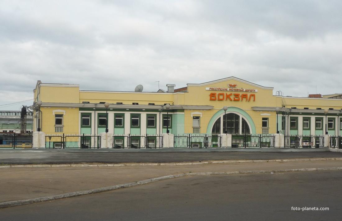 Улан-Удэ. Вокзал