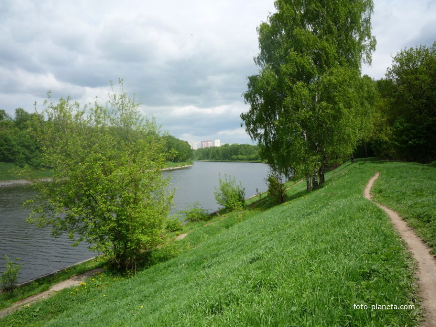 Канал имени Москвы Долгопрудный (Московская область) Фото Пл…