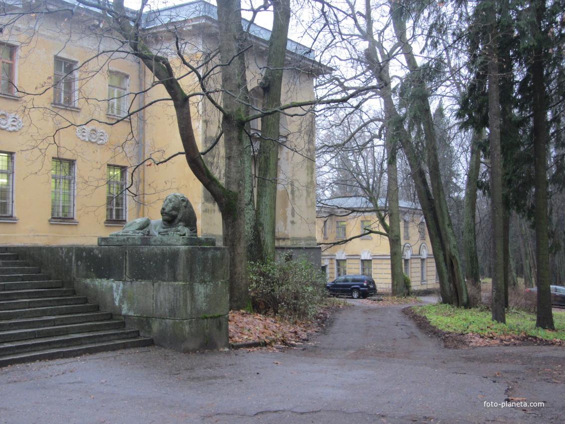 Территория Шуваловского дворца