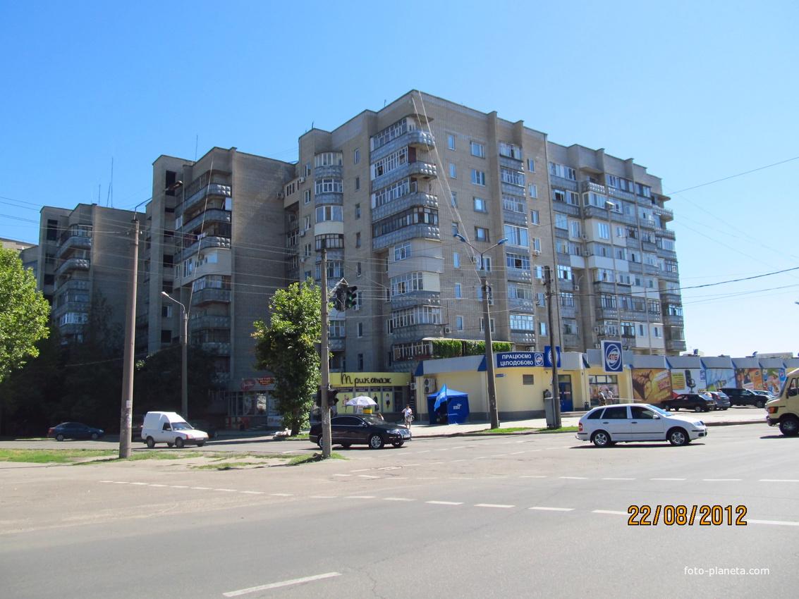 Улицы Гризодубовой / Ломоносова, 170