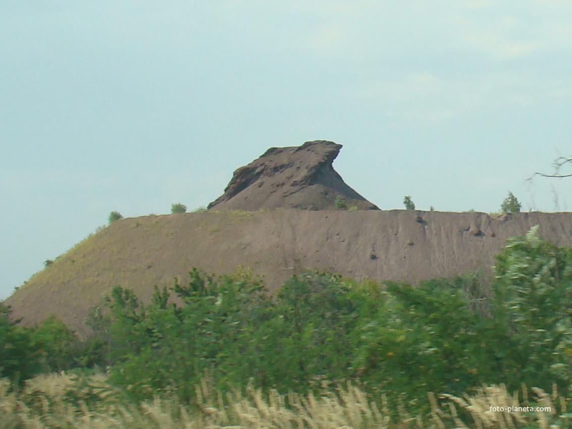 Самый большой террикон в Грушевом