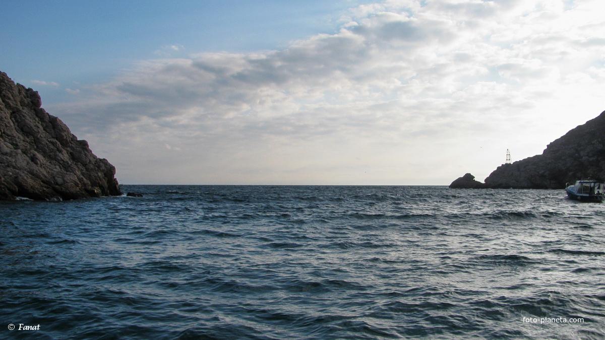 Выход в море из Балаклавской бухты