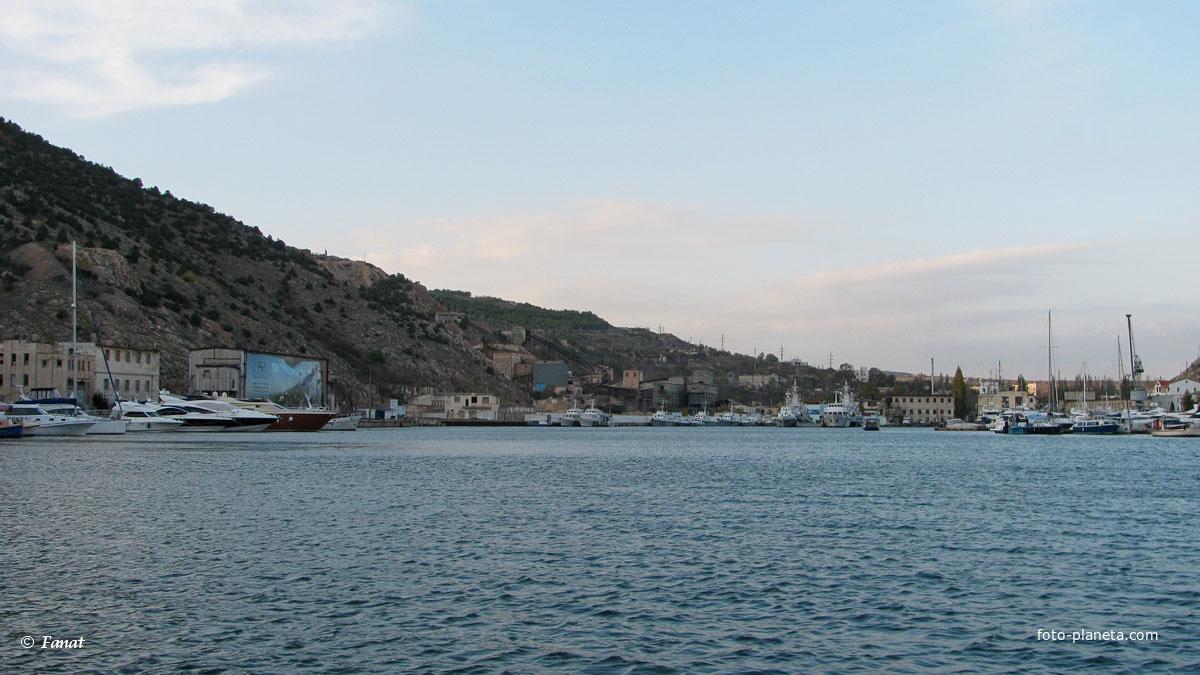 Вид из бухты