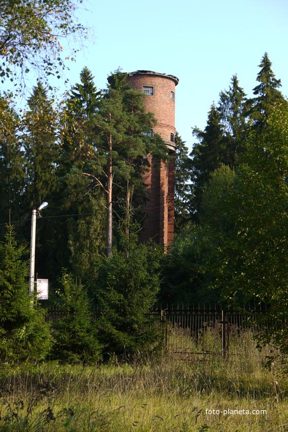 Гатчинский район водонапорная башня сиверский