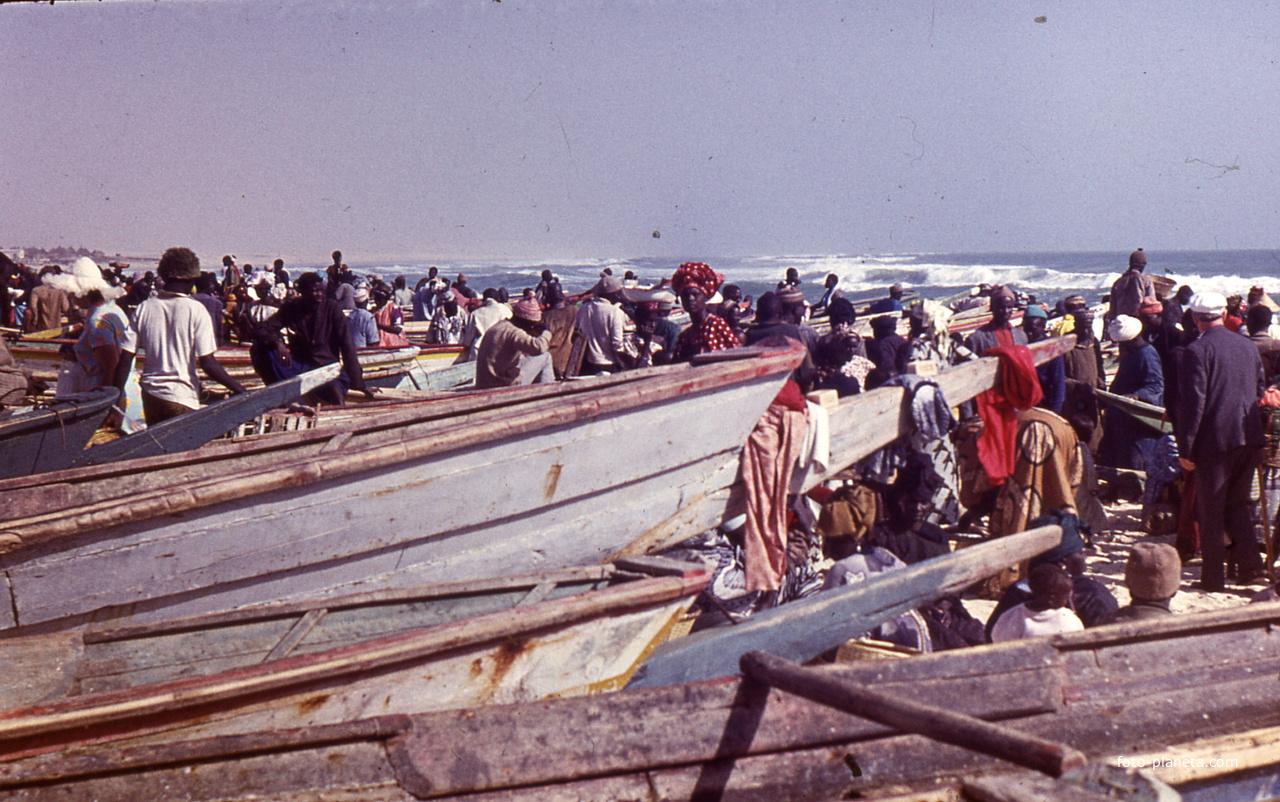 Дакар, fishmarcet