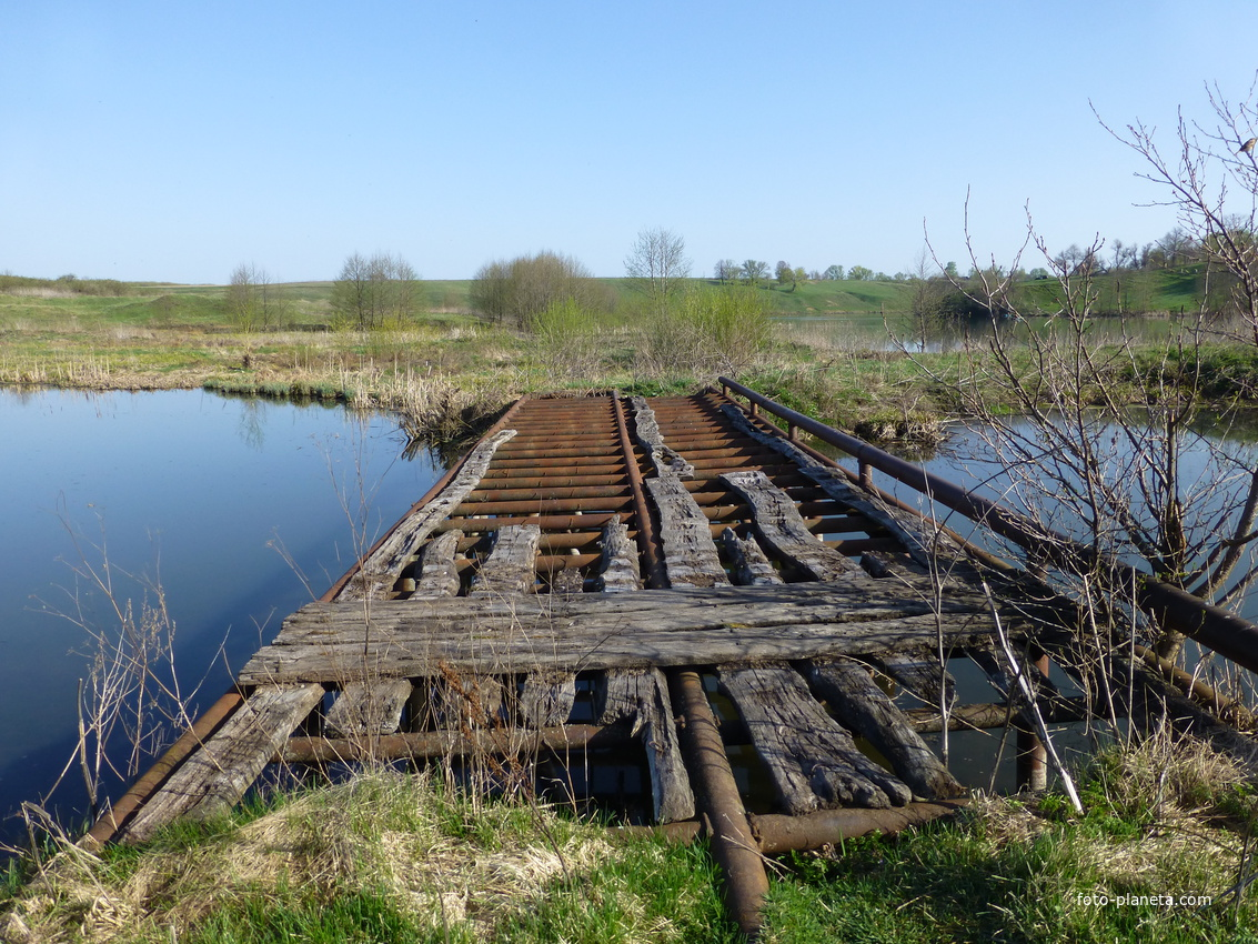 Старый мост с Коренское 06/05/2013
