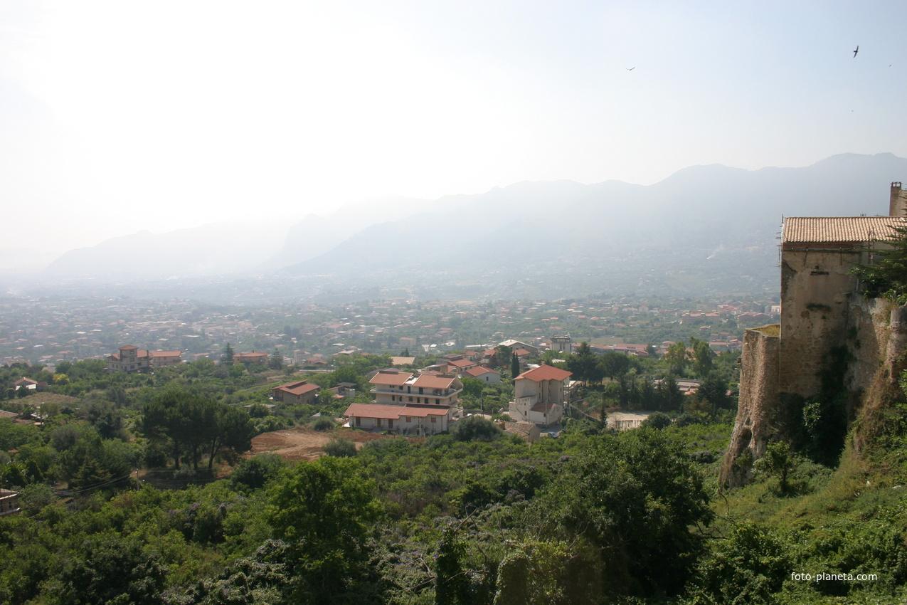 Вид на Палермо