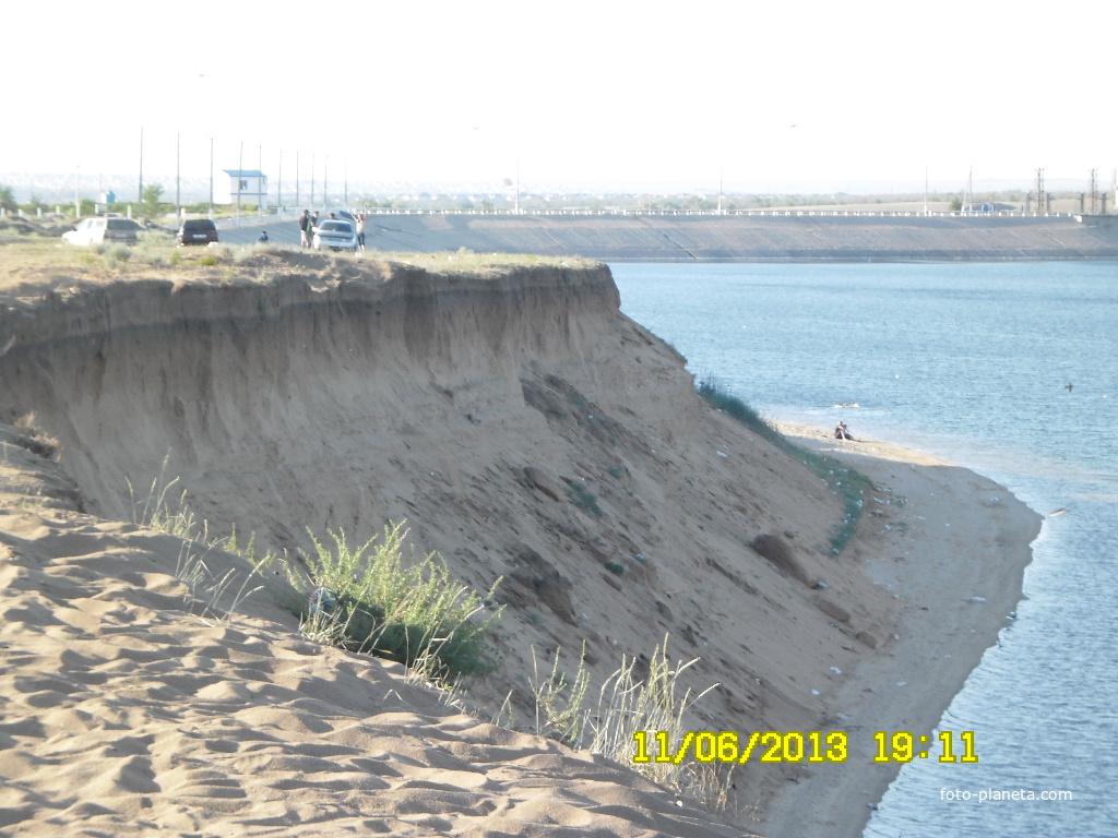 Обрыв актюбинское море актобе