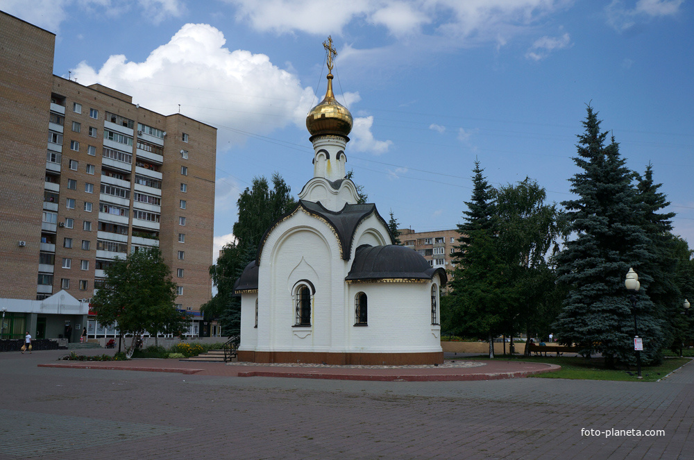 Новомученников и Исповедников Ступинских храм Ступино Фото Планета.