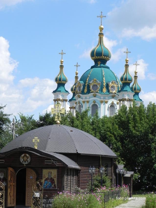 Купола Андреевской церкви
