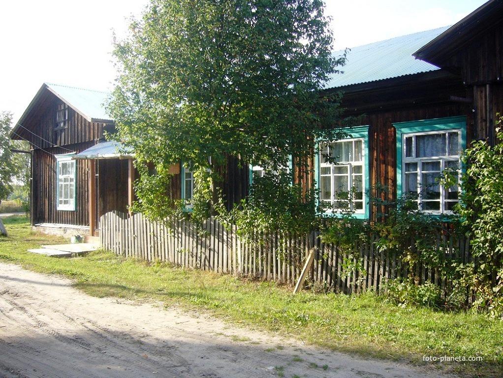 Бывшая Восьмилетняя школа | им. М.И. Калинина (Ветлужский район)