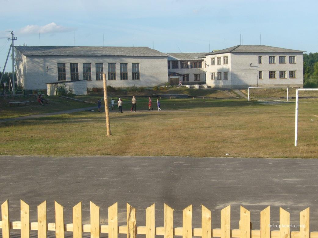 Новая поселковая школа | им. М.И. Калинина (Ветлужский район)