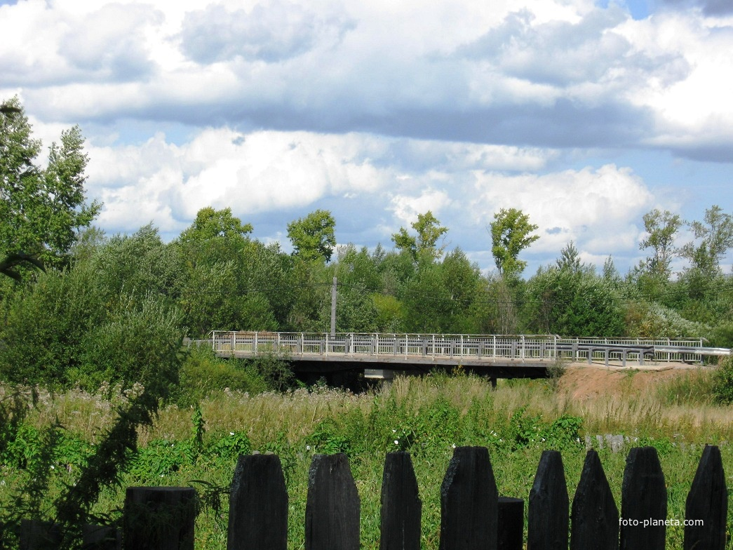 Новый мост через реку Вол | им. М.И. Калинина (Ветлужский район)