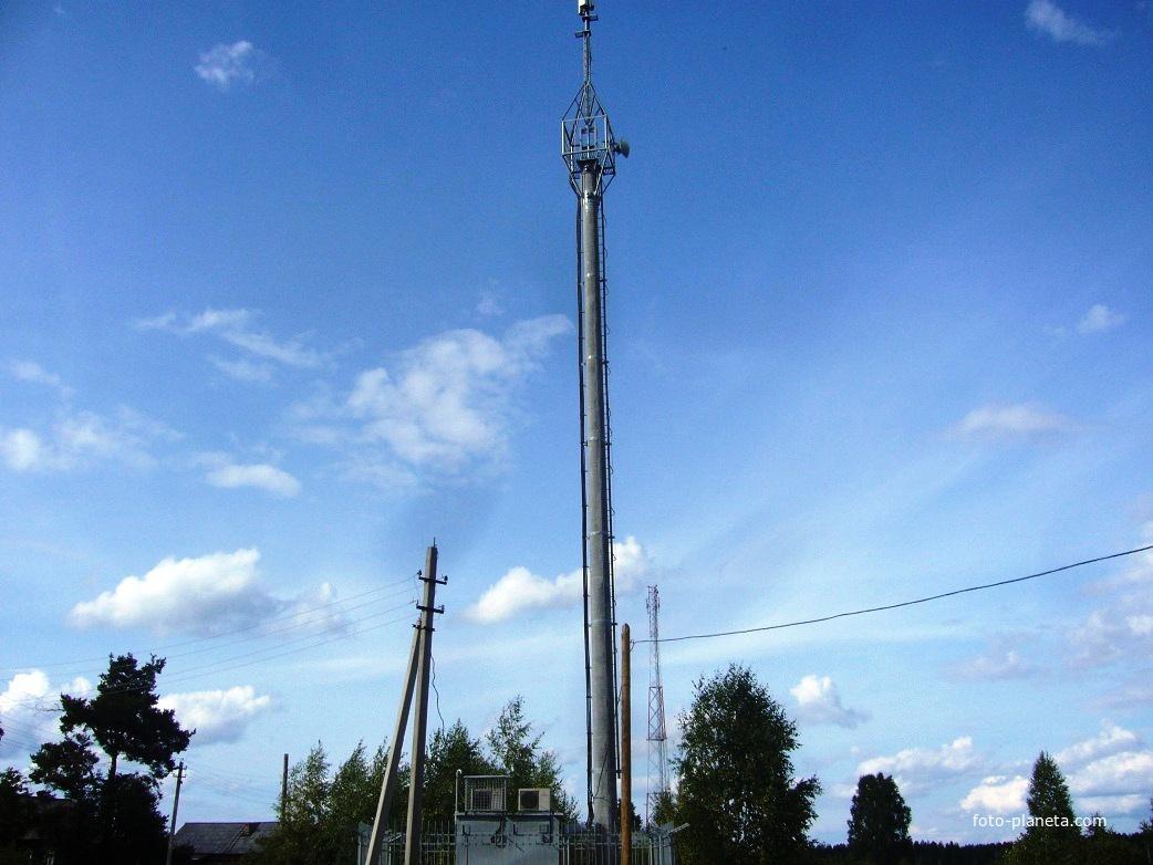 Телевизионная и мобильная связь в посёлке