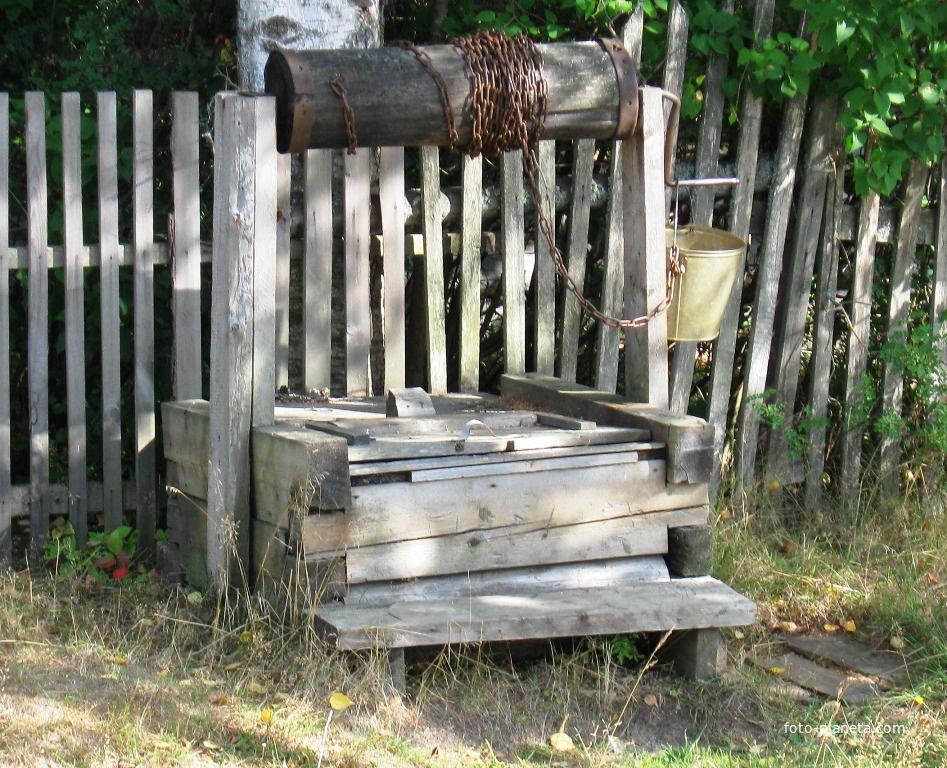 Колодец возле дома | им. М.И. Калинина (Ветлужский район)