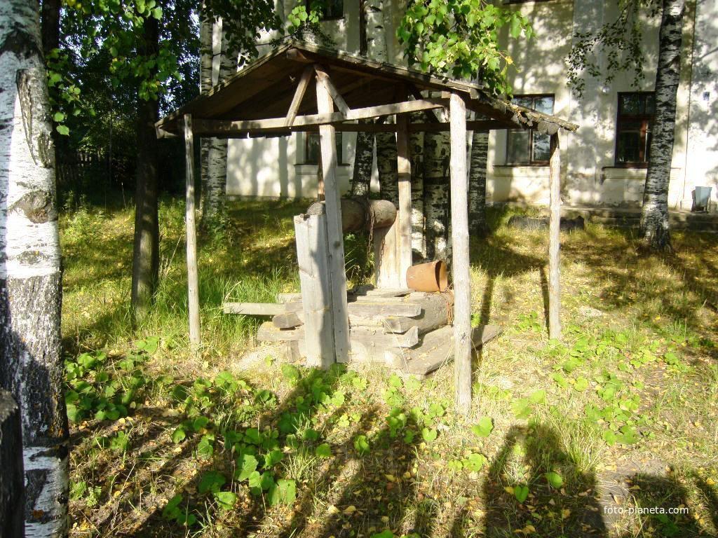 Старый колодец возле больницы | им. М.И. Калинина (Ветлужский район)