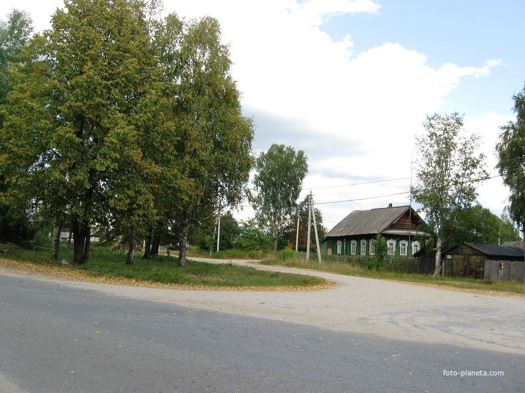 Улицы посёлка