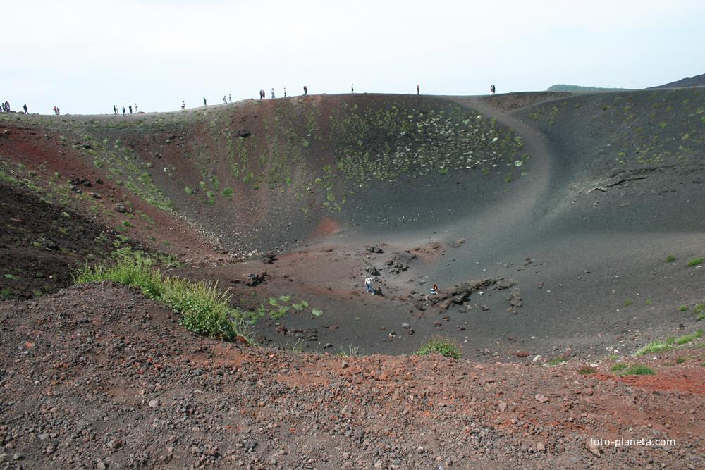 Потухший вулкан, Сильвестри кратер (1892 год) нижняя часть