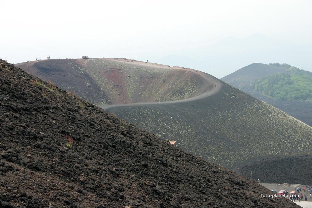 Этна, высота 1900, Сильвестри кратер