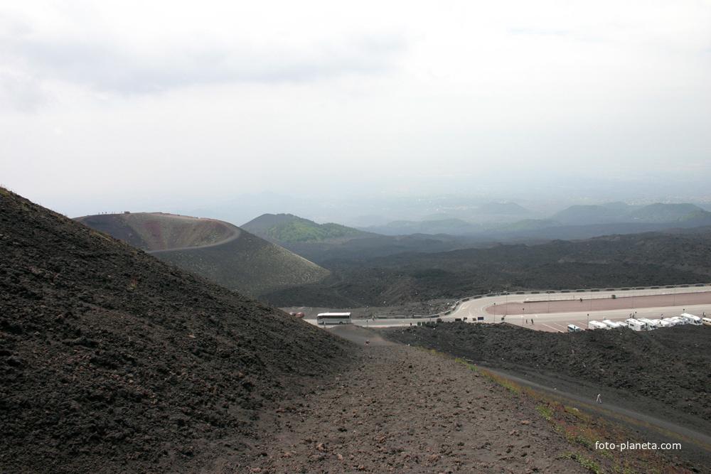 Этна, высота 1900