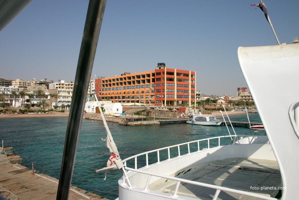 Вид на пляжи отелей Гранд Солей Мун Уали и Нью Рамоза