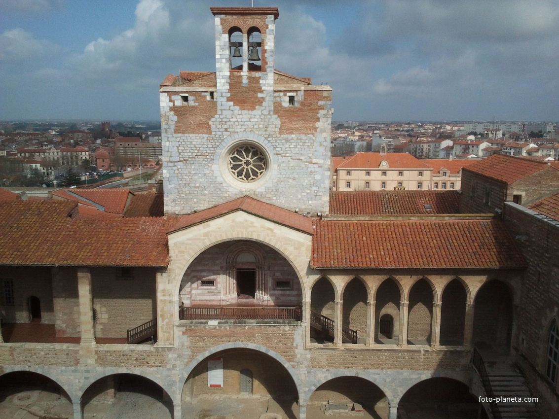 Perpignan. Palace of the Kings of Majorca