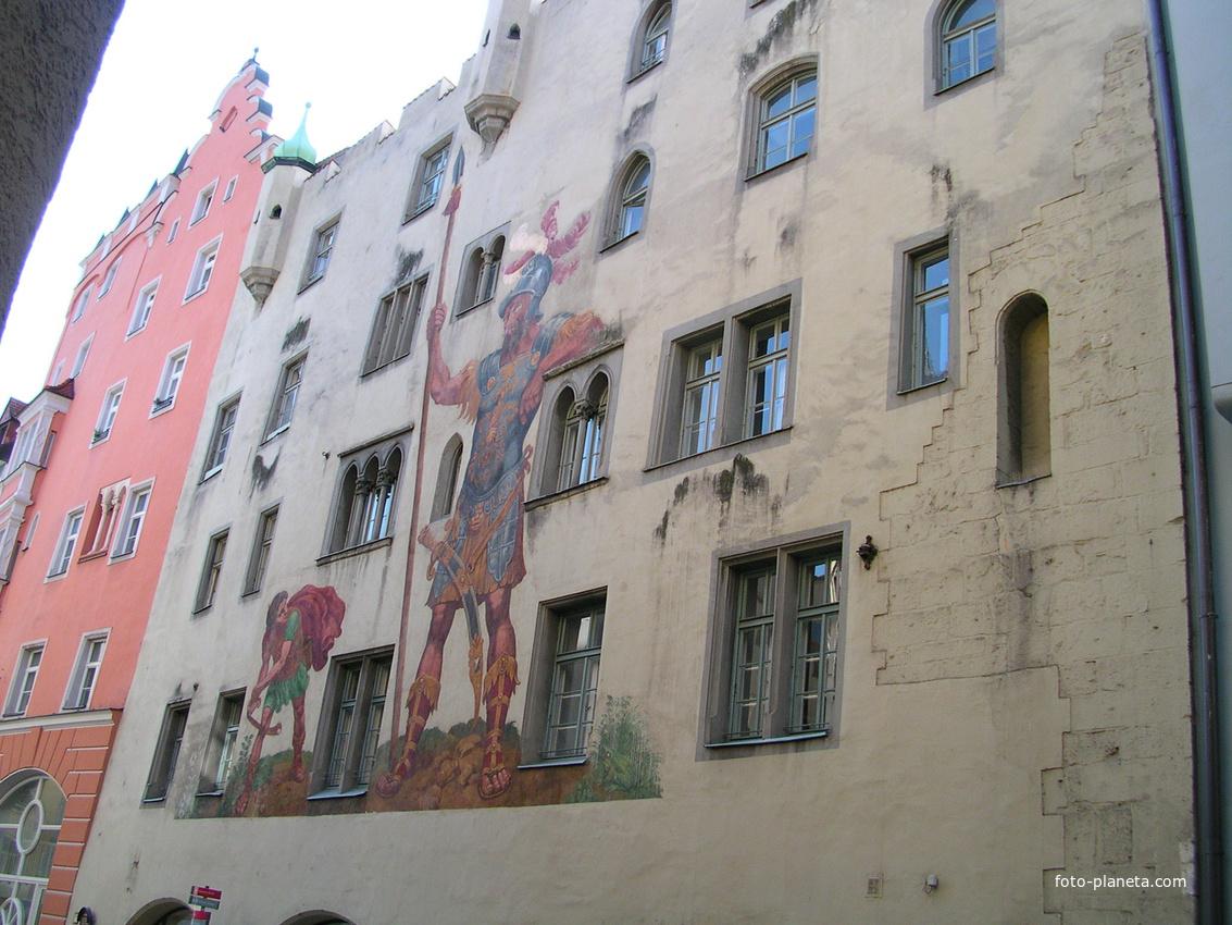 Regensburg. Goliathhaus