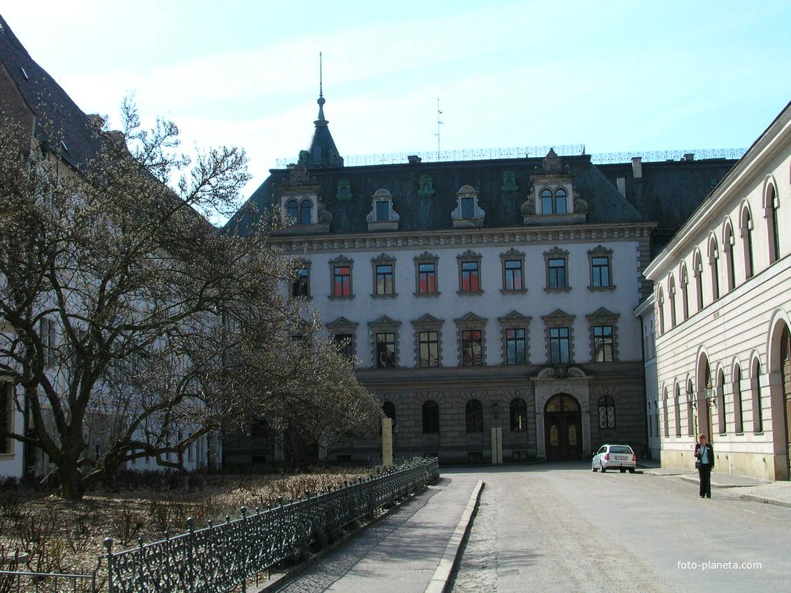Regensburg. Palast Thurn-und-Taxis