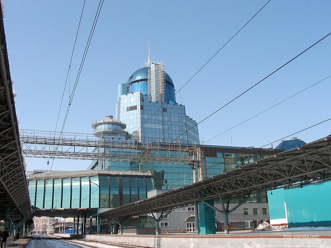 Самара. Вокзал. 2005 г