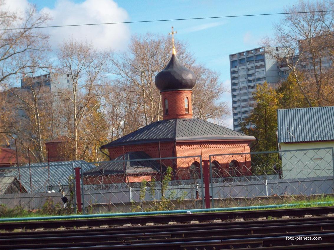 Зеленоград. Церковь в исправительном учреждении.