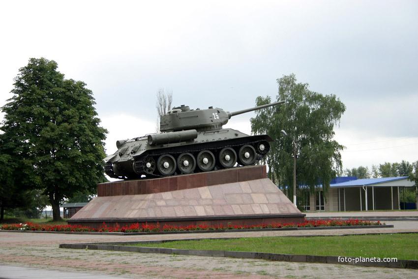 Танк т-33 селезень